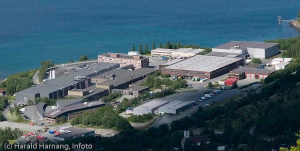 Teknologiparken i Narvik. ICA distribusjon, REC Scancell, VINN, Forskningsparken, Natech, Narvik Energi og Heatwork (pluss mange fler)