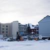 Kirkegata 52, leilighetsbygg. Foto 13. februar 2019
