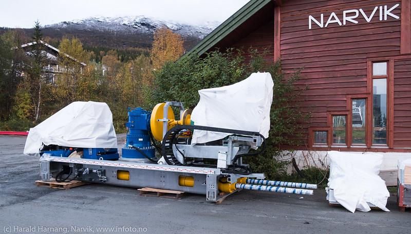 Ny fjellheis - klar for montering