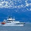 Kystvaktskipet KV Heimdal, dwt: 388 t, 47.2m × 10.39m, byggeår: 2007. Like utenfor Framnesodden 13. mai 2016