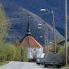 Ankenes kirke. Foto fra Ankenesveien.