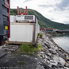 "Bilder på veien fra LKABs adm bygning til Fagerneskaia. Foto til artikkel i Fremover 2. juli 2016: ""En tur langs havna?""."