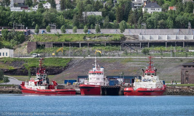 Slepebåter Narvik havn 2017