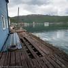 """Baksiden av Tools. Bilder på veien fra LKABs adm bygning til Fagerneskaia. Foto til artikkel i Fremover 2. juli 2016: """"En tur langs havna?""""."""