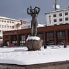 Frihetsstatuen Narvik 28. mars 2018