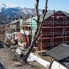 Utbedringer av hus på Fagernesskrenten.