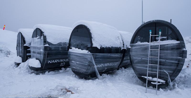 Ny fjellheis, Narvik, 27. januar 2019