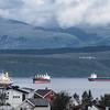 Malmskip på fjorden