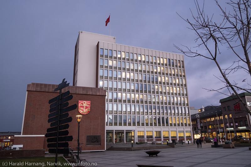 Narvik rådhus, 21. november 2018