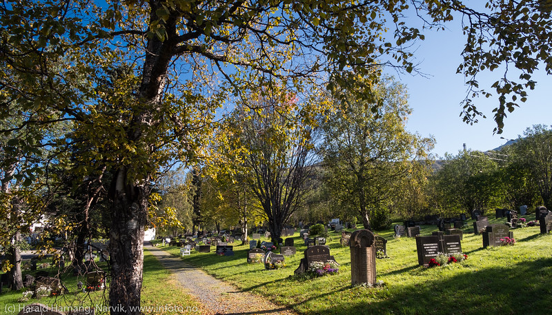 Kirkegård ved Fredskapellet, 7. sept 2018