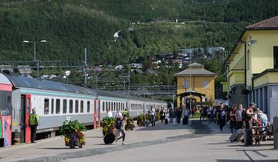 Narvik stasjon, 16. juli 2018.