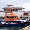 """Narvik havnevesens skip """"Bjørnfjell"""", 16x6 m. Opprinnelig redningsskøyte."""