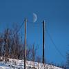Måne på slakk line