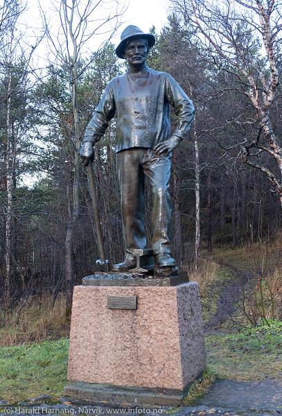 Rallaren, monument. 7. november 2018