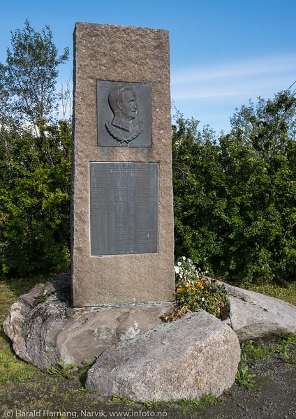 General Fleischer monument på Veteranplassen.