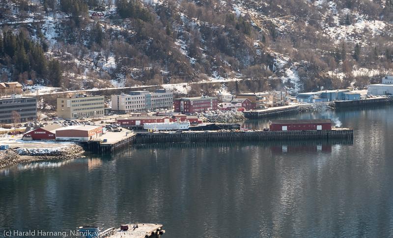 Narik havn, Pir 1, 10. april 2019