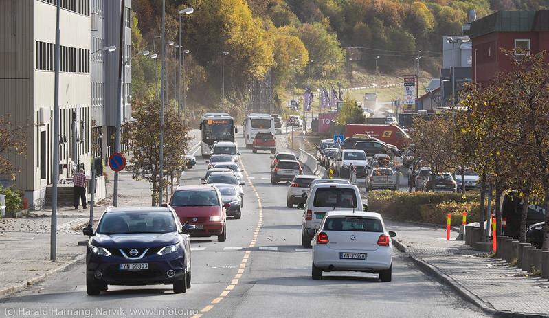 Trafikk på Fagernesveien