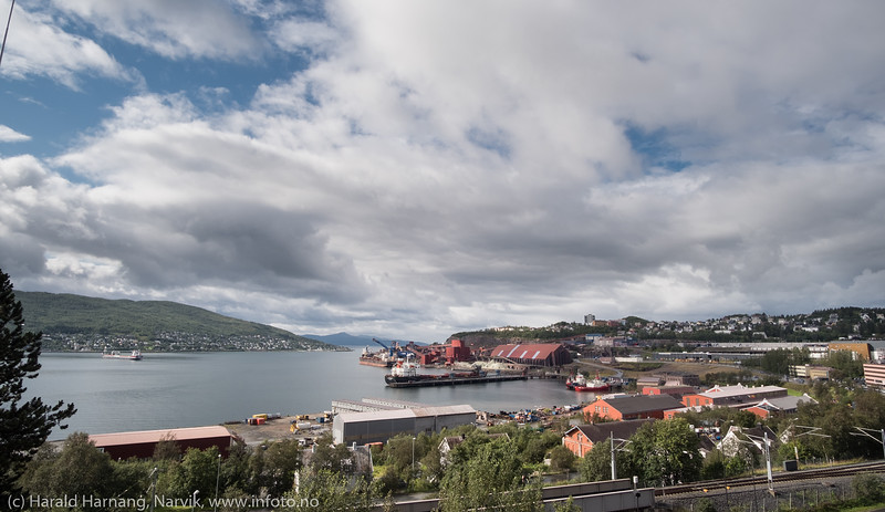 Narvik havn 21. august 2018