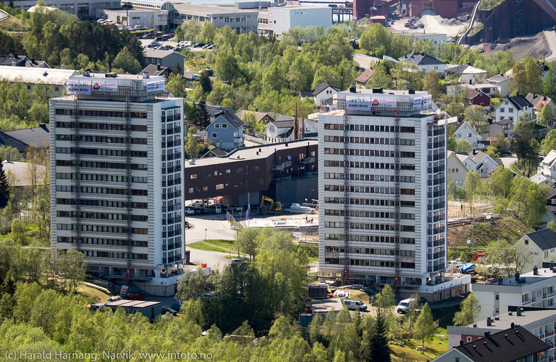 Tøtta 1 og Tøtta 2 under restaurering, 27. mai 2016