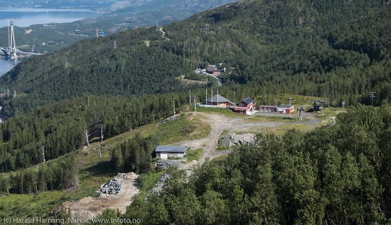 Fjellheisen, Narvik, 8. august 2018