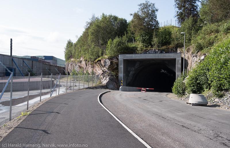 Tunnellveien. 22. aug 2018