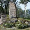 Fransk minnesmerke ved 2. verdenskrig på Veteranplassen
