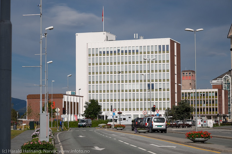 Narvik rådhus, nyoppusset utvendig og innvendig