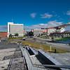 Narvik sentrum med rådhuset