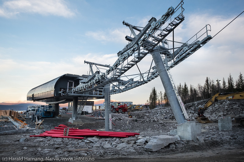 """Nye"" fjellheisen. 18. november 2018"