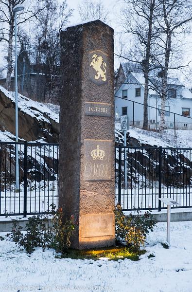 Monument: Kong Oscar-støtten
