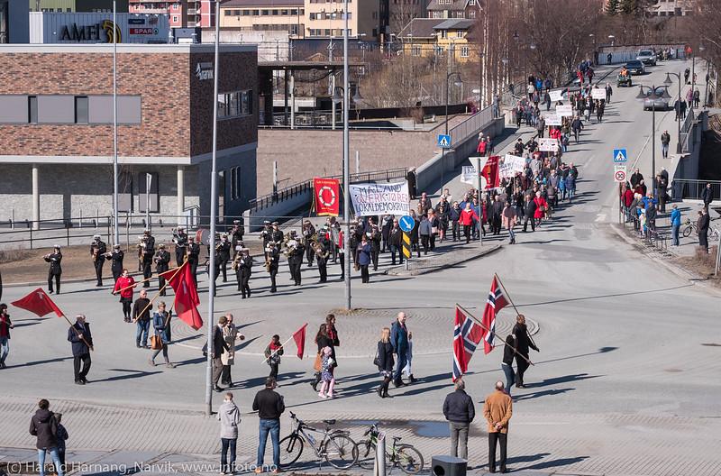 1. maitog 2018, Narvik5
