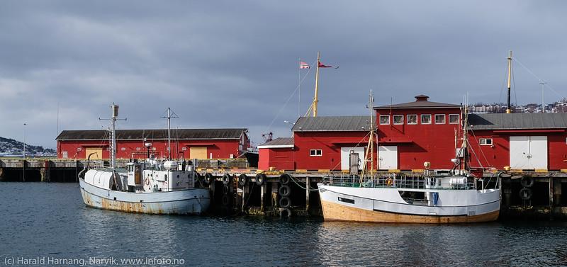 Narvik havn, pir 2, 15. april 2020