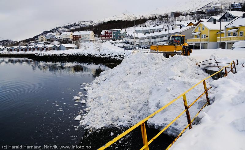 Snørydding, Vassvik