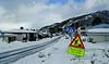 Snorres gate, Narvik. 25. mars 2020. Mye graving og arbeid i dette området.