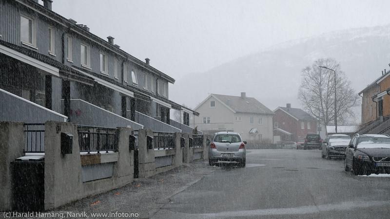 Snø og hagl, 12. mai 2020
