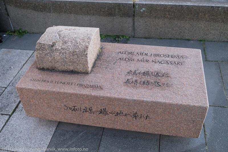Hiroshima-stein