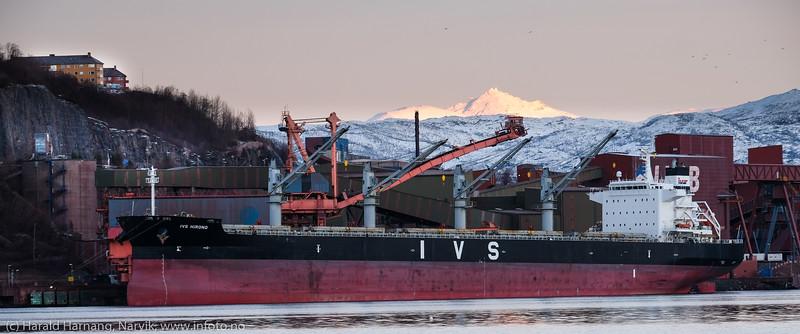 Malmskip, Narvik havn