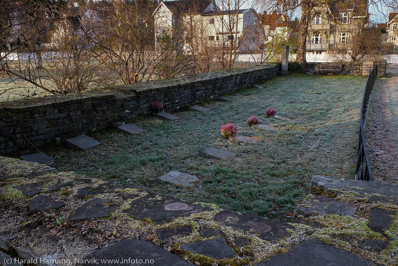 Kirkegård i kirkeparken