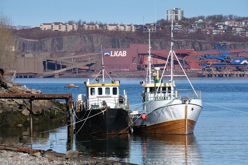 Småbåter utenfor Ankenes.