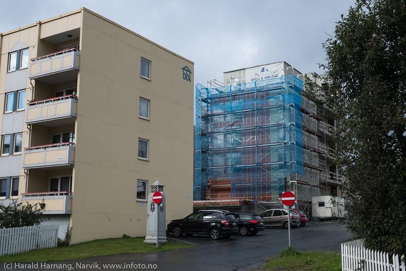 Nytt leilighetskompleks Kirkegata 52 på Frydenlund