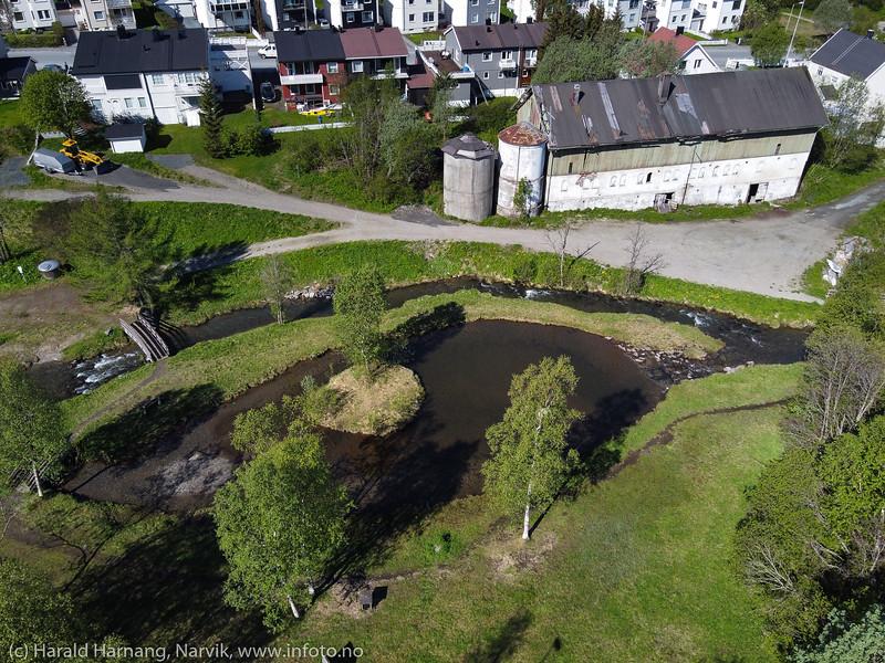 Elveparken i Taraldsvik, 10. juni 2020
