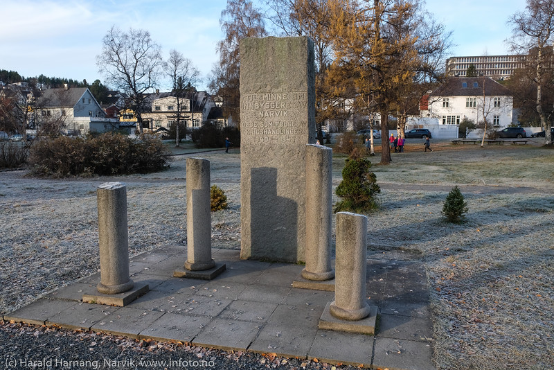 Monument, kirkeparken