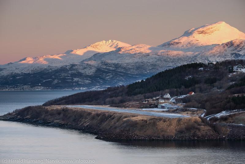 Narvik lufthavn, nedlagt