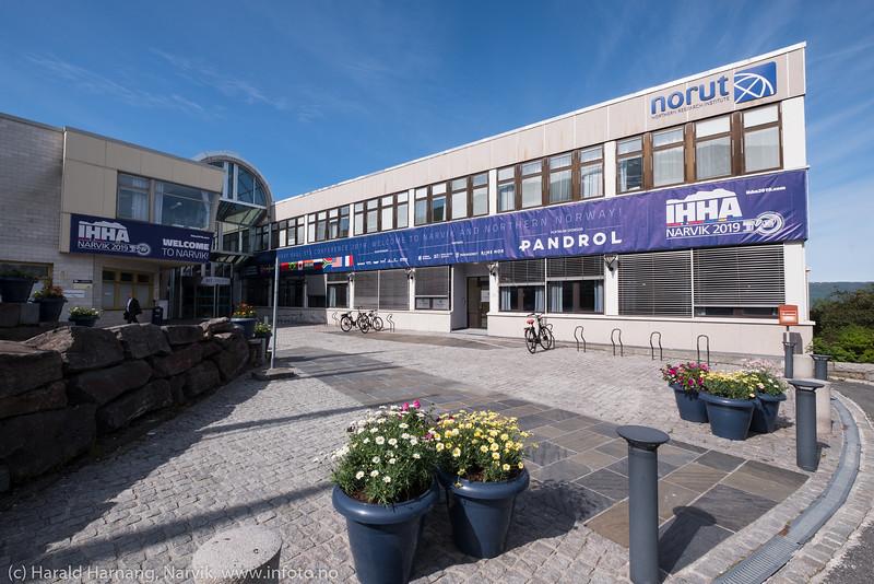 Tung-jernbane-transport-konferanse på Universitetet i Narvik