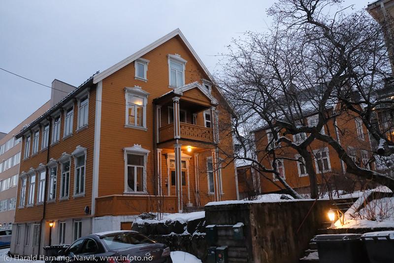 Stene-gården i Administrasjonsveien 6. Foto 22. desember 2019.