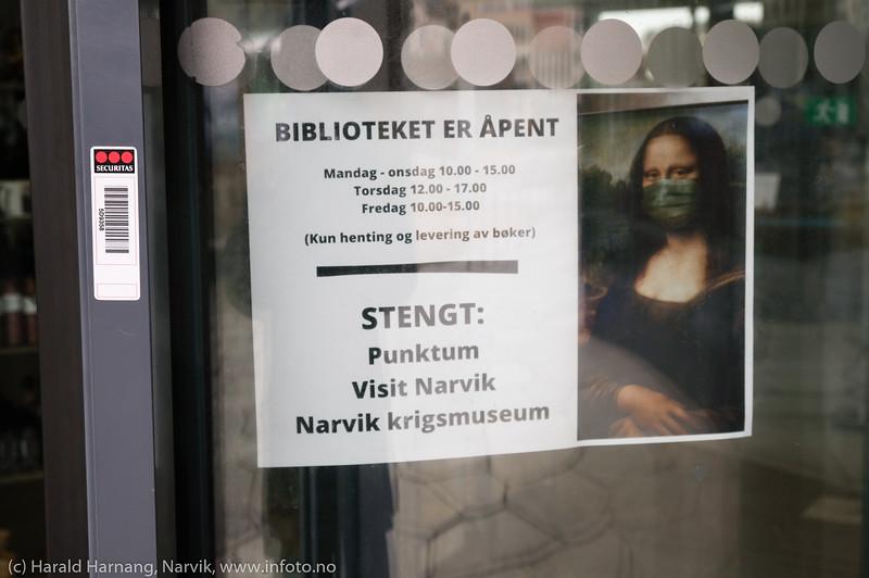 Stengt bibliotek - nesten