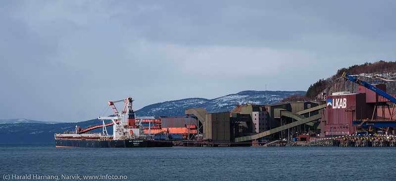 Malmskip, 15. april 2020