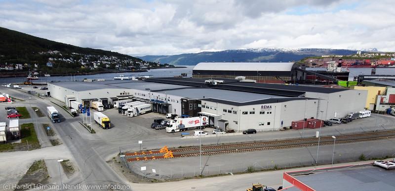Fagernes terminalområde, 11. juni 2020