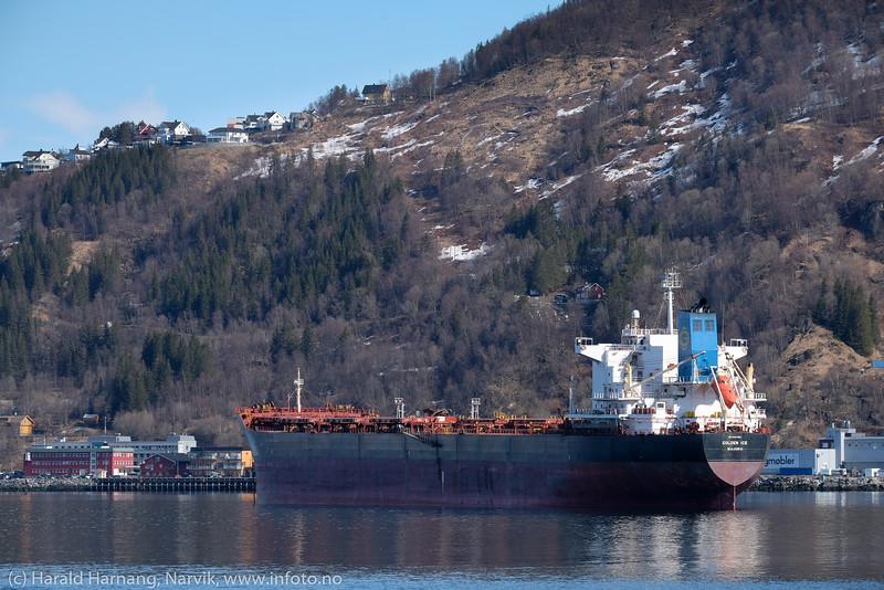 Golden Ice, malmskip, 30. april 2020