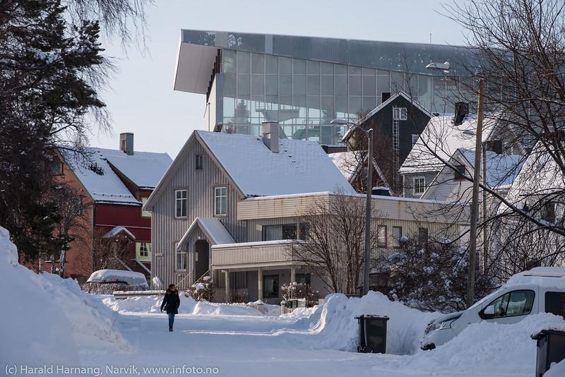 Bygninger, Narvik. 27. februar 2020